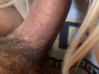 Tell me what you think about this blonde sucking my cock? Leave a comment!