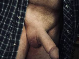 I'm getting sexually aroused and my cock is swollen.