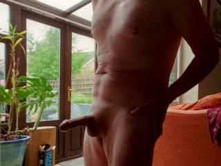 Naked and on display
