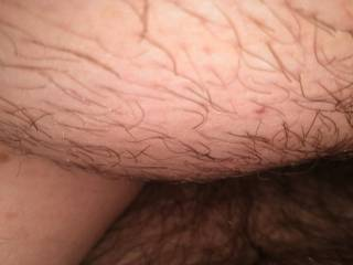 Wife sitting on my cock. I\'m at maximum depth inside her. Feel so good. Fucked her Saturday night and again Sunday morning.