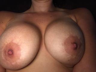 Just a snapshot of her big tits