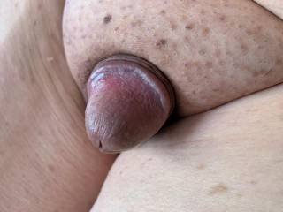 Just my tiny little cock and his shaft is hiding.