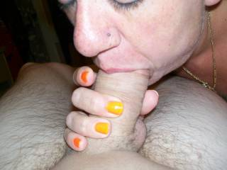 Wish those lovely hands were wrapped around my cock...nicely done!