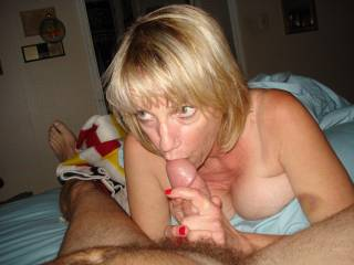 the bj is best when you look me right in mine eyes while i explode in your mouth, lol