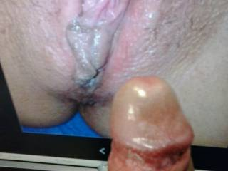 cumming for this hot pussy
