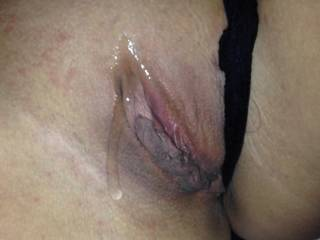 My sexy girlfriend lubed up and ready to go !!