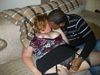 Getting this white wife heated and ready for me to fuck her!