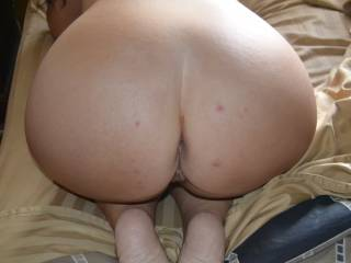 Would love to give that sweet ass a good spanking before pounding it nice and deep.