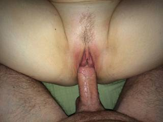 He made me cum all over his big dick. Any of you ladies want the same treatment from him? Or who wants to lick my cum off his dick?