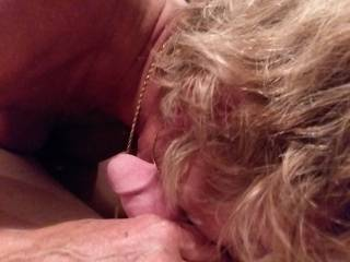 Getting my cock & balls sucked