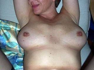 Love my big tits being fucked and glazed