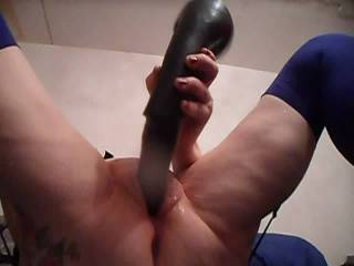 Hi all good god this toy made me come hard, managed to ram half of it deep inside. dirty comments welcome mature couple