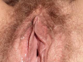 Mmmmmmm so sexy and mouth watering seeing this. Wish i could run my wet soft pierced tongue over your pussy and suck your clit for you