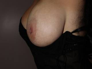 Love your boobs from any view... mostlynwhile laying under you...mmm