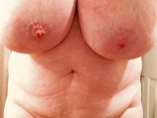 Becky\'s big boobs.