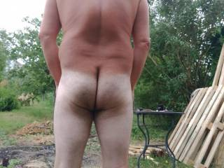 Does my bum look white in this