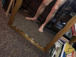 Fun mirror time.