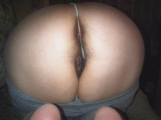 A furry pussy is nice, but a furry asshole is a very rare treat... I'd love to pump that amazing ass full of hot, sticky cum then have the absolute pleasure of licking it all up...