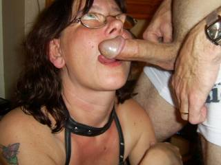 I just love sucking his cock - can ya tell?