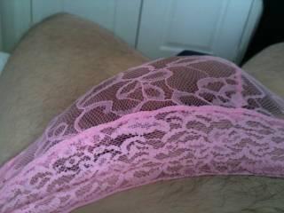 Buling in my pink panties