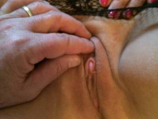 What do I have to say or do top be able to suck and lick that beautiful clit of yours? I promise I won't stop until you tell me to.