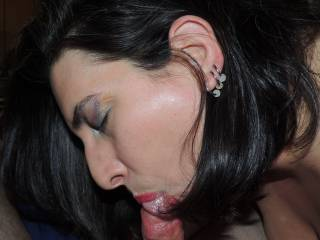 She loves sucking my dick