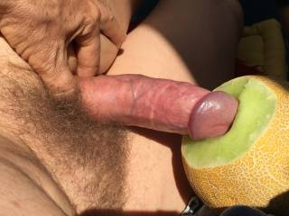 fucking in the sun my juicy substitute for wet slutty females ... anyone wanting to suck my sweet dick off? or letting me introduce it into their holes?
