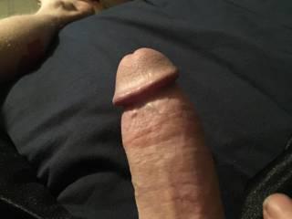 My hard cock!