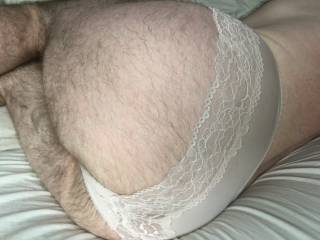Playing in my wifes panties