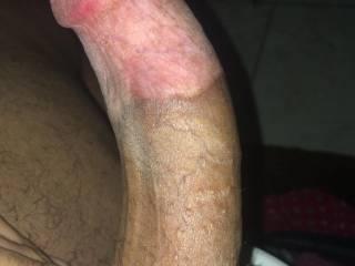 Good ol hard light skin 21 year old dick