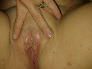 Getting ready to lick suck finger and fuck that tight pussy