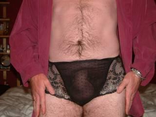 wearing my panties