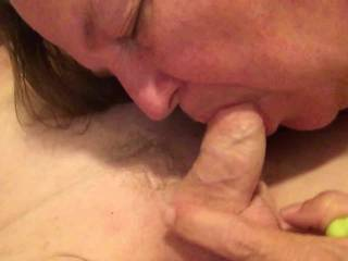 I need to lick your cum off her pussy. I hope to see more of your cum shooting out of your cock