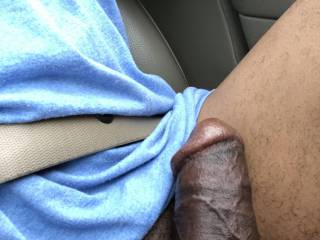 Driving with my dick out again