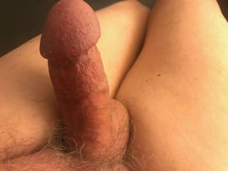 My hard old cock