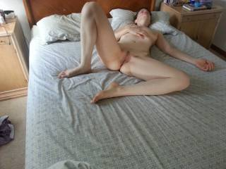 desirable...perfect invitation for the hard cock in her pussy...