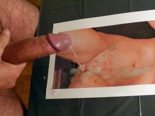 wow very sexy cum shot and very nice looking cock . Ella x
