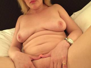 Aww I would sure love to play with you and your beautiful pussy I would love to lick and suck on your beautiful pussy and I have a grate big hard cock that would love to play with your beautiful pussy