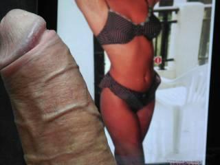 Ur cock is a giant massive tool on her beautiful bikini clad body,,,