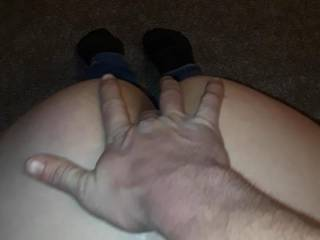 I love your finger in my ass but pull it out and put your dick in me already