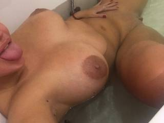 Want to see more?Cum on me and you will receive my private pics and even more....maybe a video....Pm me guys...