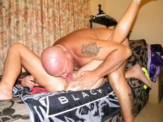 mmmmm my Man giving me a hot licking oh i love good tongue !!!!!