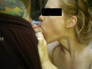 I'd come out there just to get a good deepthroat gagging!!!  Let me know if you guys need a camera man or third!!  ;)  You may like our videos since you like gagging and anal.  Pleas friend us so we don't miss any of your posts.