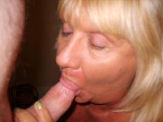Looks like you take special care of the helmet. I love a women sucking cock that takes care of the head.