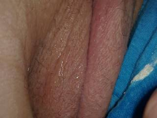 Absolutely LOVE the crusty panties and wet pussy.