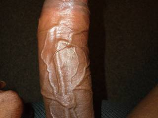 OMG what a beautiful dick. So long and thick and so black. I would so love to feel that black horse dick in my mouth and feel those big veins when it gets it soo hard !!!  Stephie