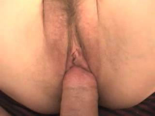 Damn I wish I was the lucky guy with my cock in the tight little pussy.