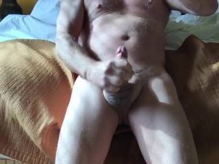 I would gladly suck that for you so you didn't have to jerk off