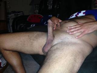Anyone want to ride my hubby big cock?