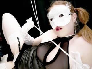 Little slut, french redhead, house wife with sexy clothes and rope between cheeks, missredpussy is a real kinky slave.